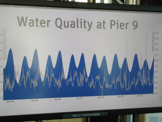 Turner Designs' sensors at the new Exploratorium