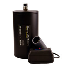 High Capacity Submersible Battery w/ Charger & Cable