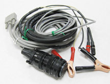 12 VDC Power & Signal Cable w/Clips