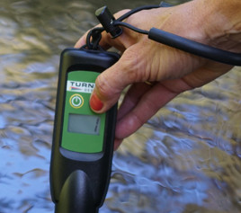 FluoroSense Handheld Fluorometer available for Phycocyanin Estimates aiding in the identification of