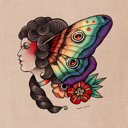 pride moth