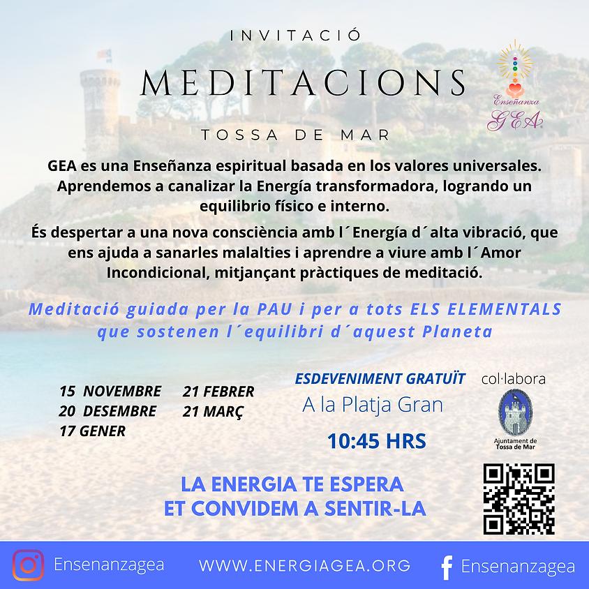INVITACIÓ MEDITACIONS TOSSA DE MAR