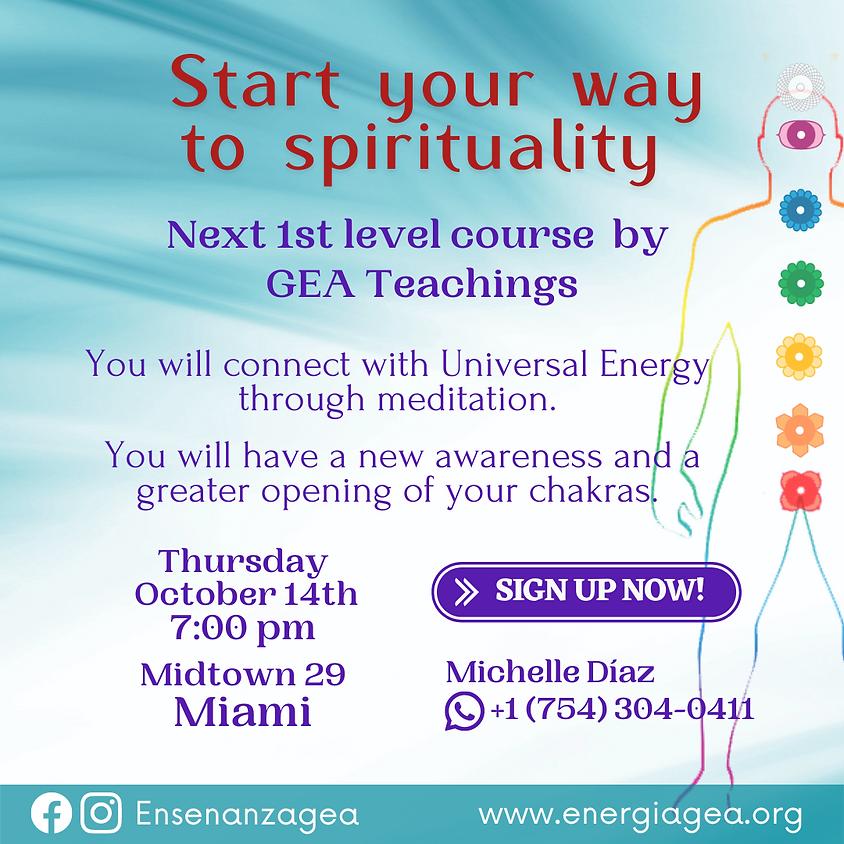 Start your way to spirituality, Miami