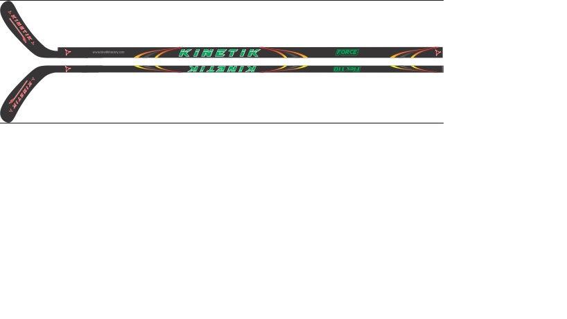 "KH 110 RH ""Force"" Kinetik Hockey stick adult size"
