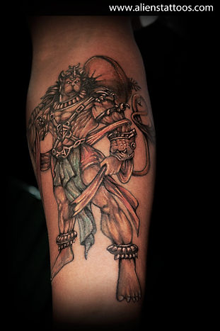 Lord Hanuman Tattoo