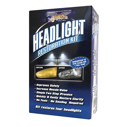 Gliptone Headlight Restoration Kit - 7pc