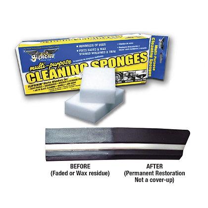 Gliptone Cleaning Sponges Multipurpose Glipscrub - 12 Sponges/Bag