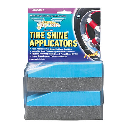 Gliptone  Tyre Shine Applicators - 2PK