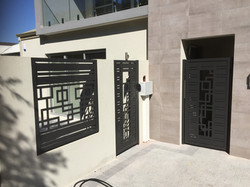 SINGLE GATE AND INFILL PANELS