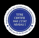 Titre certifié RNCP Coach professionnel Serge VAUVERT