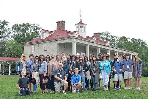Williamsburg-Washington DC: An 8-Day Field Study Tour