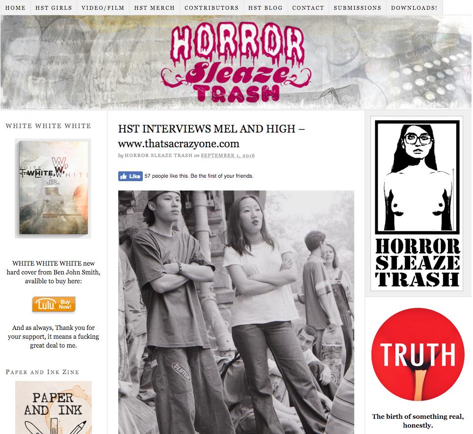 http://www.horrorsleazetrash.com/interviews/hst-interviews-mel-and-high-www-thatsacrazyone-com/
