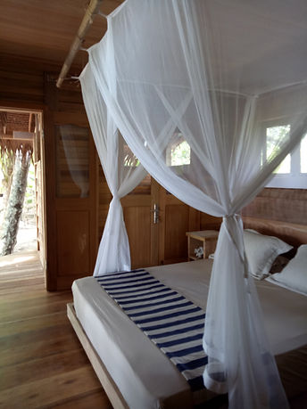 Mentawai Family Surf  Resort Bedroom