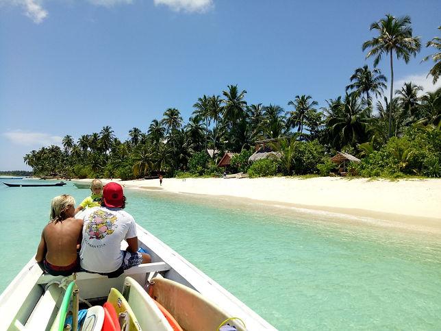 Mentawai in Indonesia Ferry