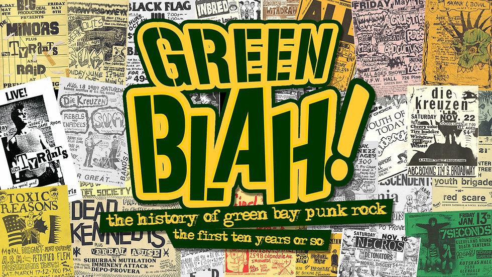 Green Blah title screen