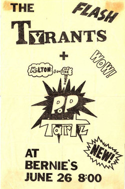 Tyrants & Pop Tartz
