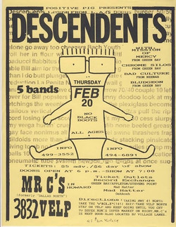 Descendents Mr. C's