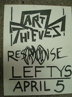 Art Thieves & No Response