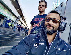 Johnny racing pic