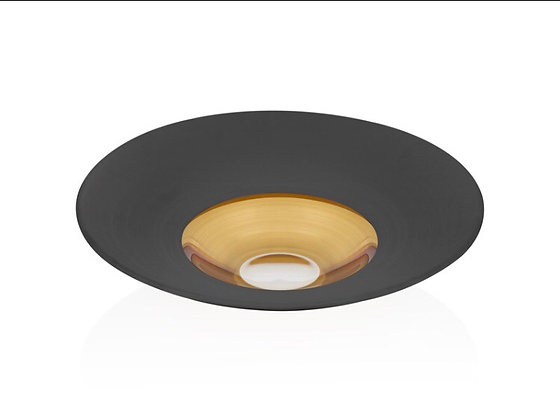 Vision Black 35cm Salata/Makarna Tabağı