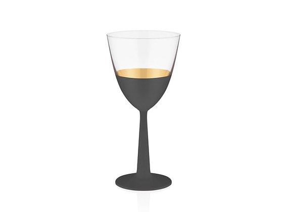 Vision Black 6'lı Kırmızı Şarap Kadehi
