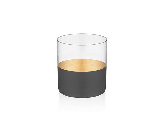 Vision Black 6'lı Viski Bardağı