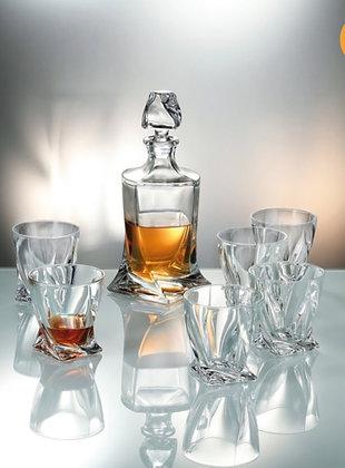 Crystalite Bohemia Quadro Viski Seti