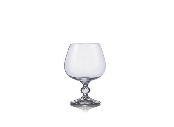 Crystalex Claudia Kristalin 250ml Konyak Bardağı