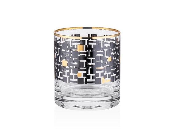 Monochrome 6 Parça Viski Bardağı