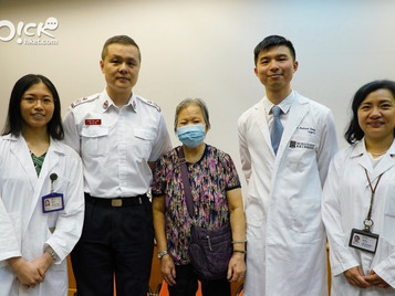 瑪麗醫院與消防處救護總區合作推出院前腦中風評估先導計劃