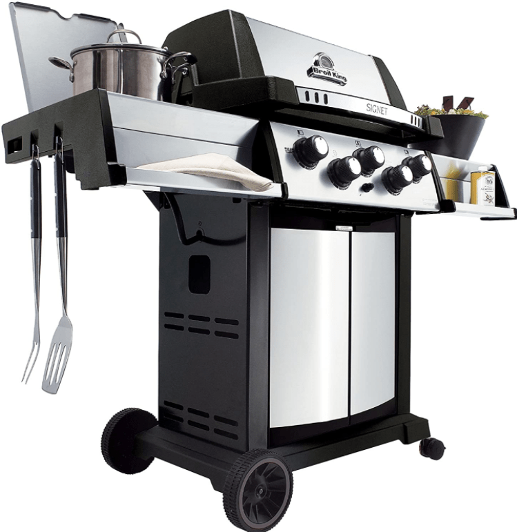 Build and Set Up of the Broil King 986887 Signet 90 Natural Gas Grill with Side Burner and Rear Rotisserie