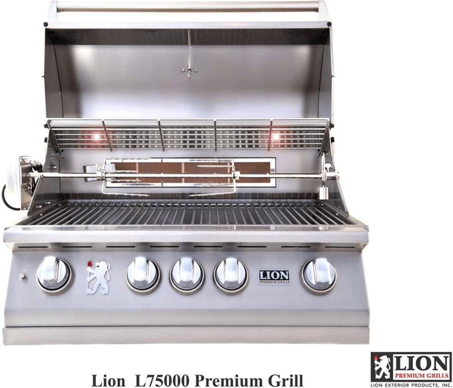 "Lion Premium Grills L75623 32"" Natural Gas Grill Head"