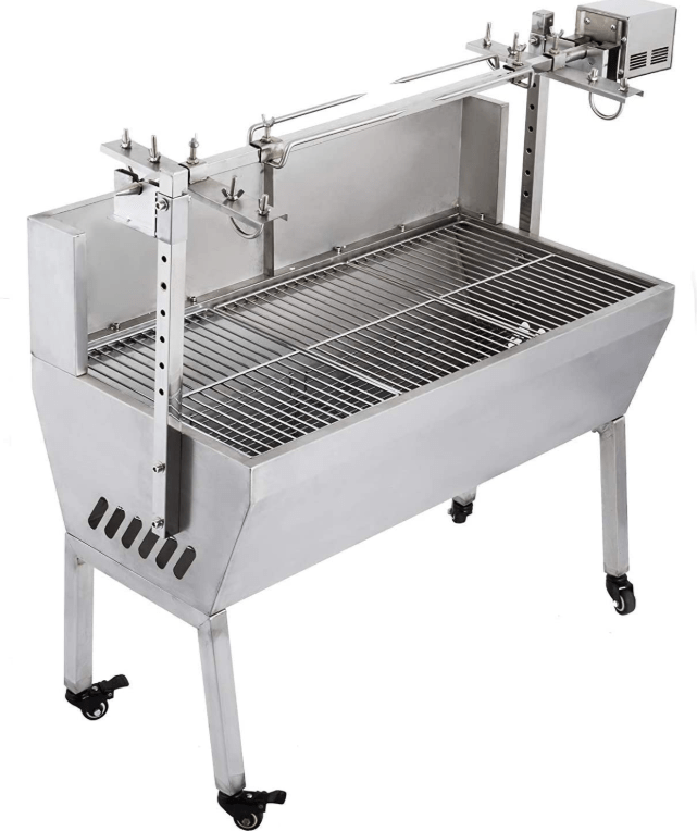The VEVOR 132-pound/60kg Charcoal Rotisserie Grill
