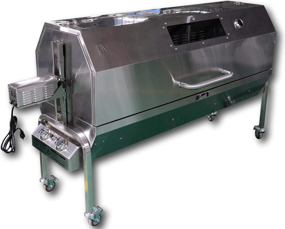 The Charotis 52-inch SSGC1 Propane and Charcoal Rotisserie Grill