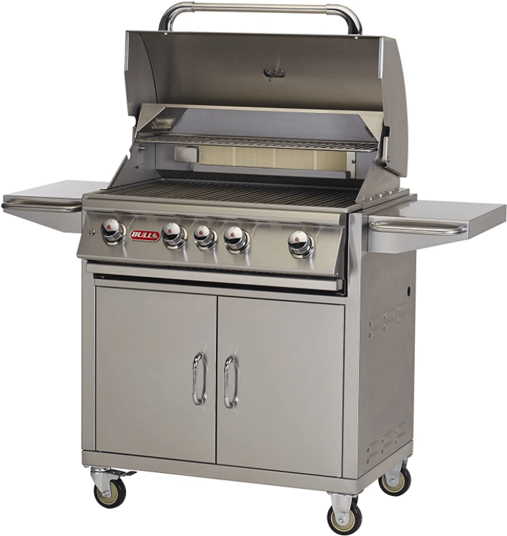 Built Stainless Steel Build of the Bull 44001 Angus with Included Grill Set