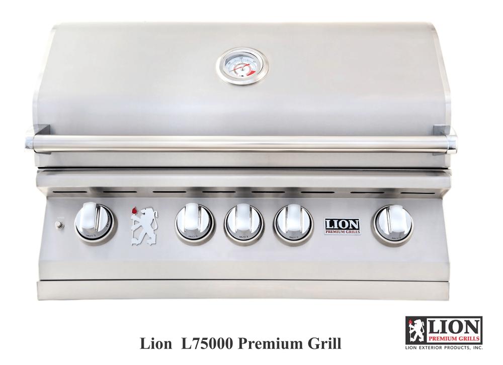 "The Lion Premium Grills L75623 32"" Natural Gas Grill Head"
