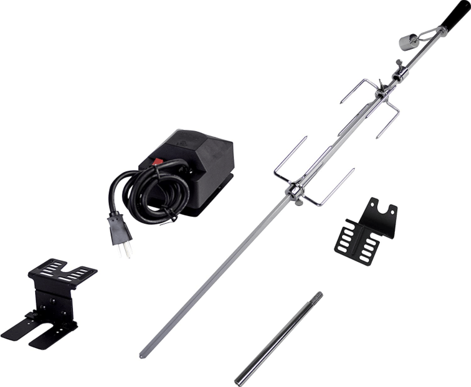 Dyna-Glo Universal Deluxe Rotisserie Kit for Grills