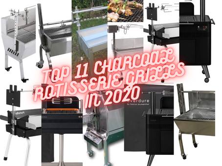 Top 11 Best Charcoal Grills with Rotisserie of 2021 (Recommended Best Sellers)