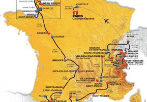 """De """"Tour de France"""" komt onze richting uit !!  Le """"Tour de France"""" vient en notre directio"""