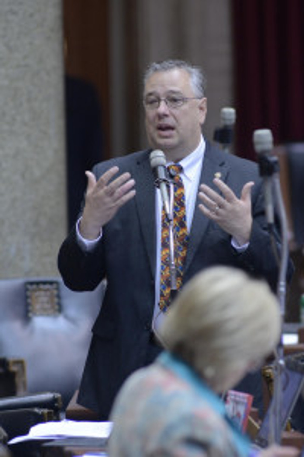 Rep. T.J. Berry (Photo courtesy of Tim Bommel, Mo. House of Reps.)