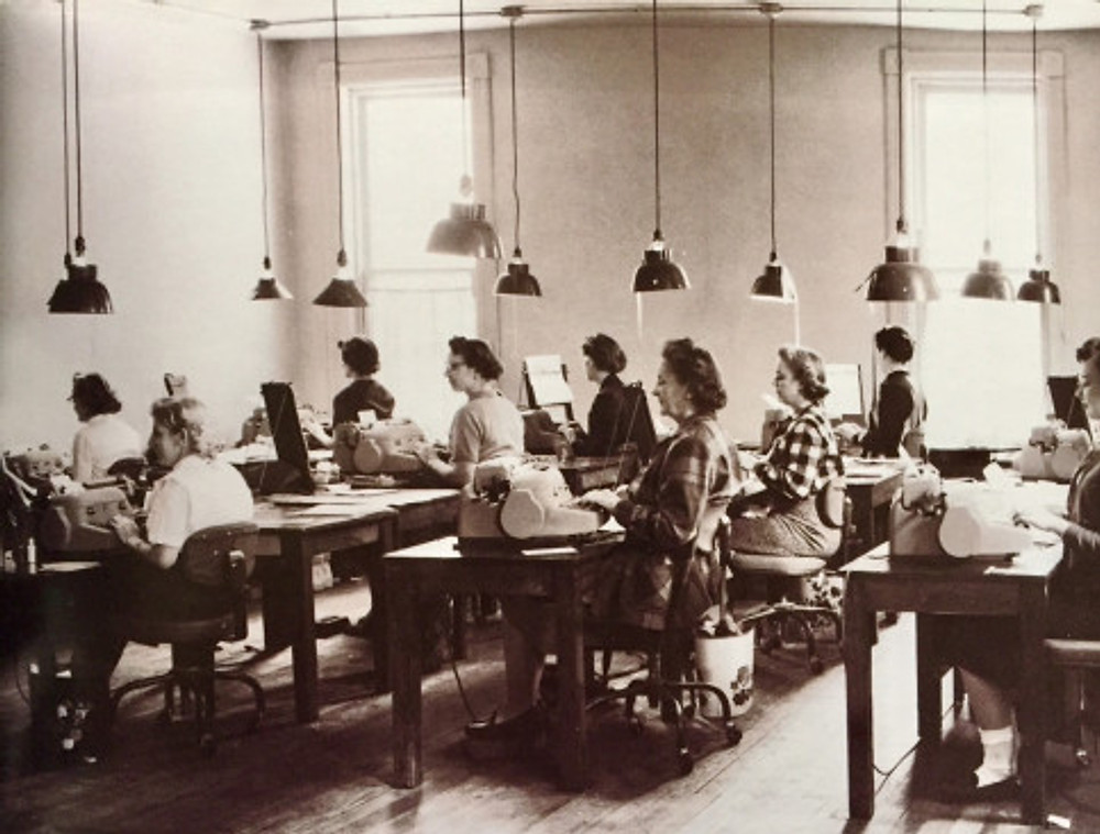 typing-department-early-1950s