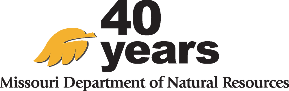 MissouriDNR 40th anniversary logo