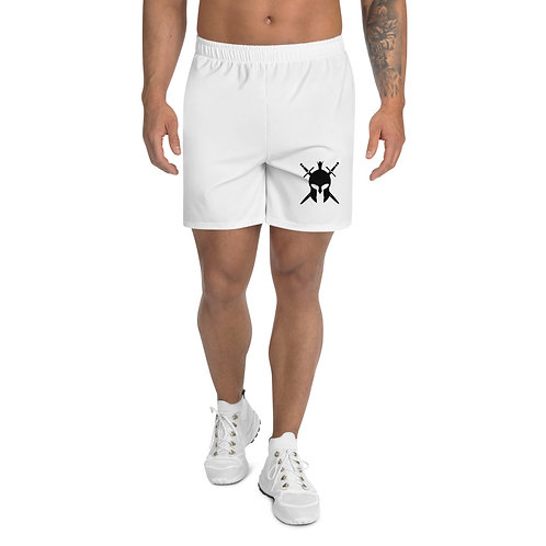 Men's Spartan White Shorts