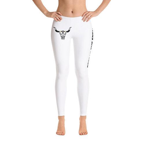 Women's BULL White Leggings