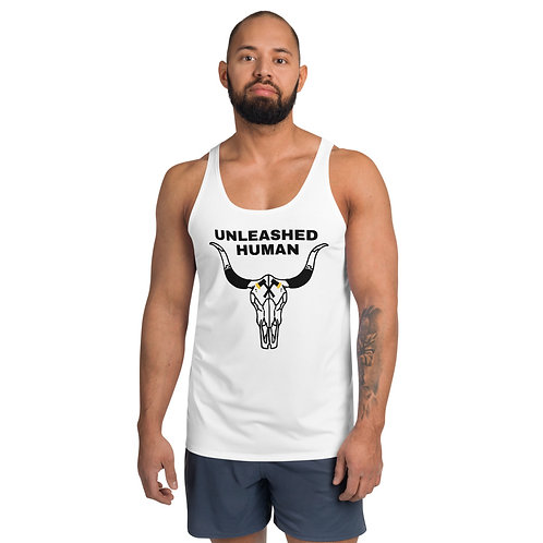 Men's Unleashed Tank White