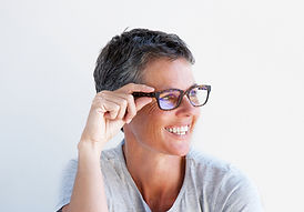 Mature Woman with Short Hair