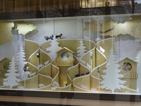 Patek Philippe's fab window display