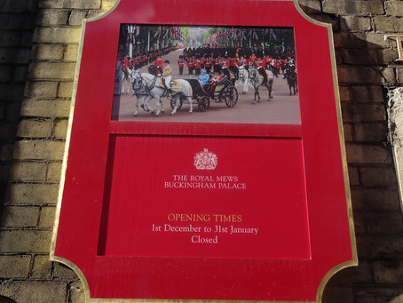 Royal Mews is open again