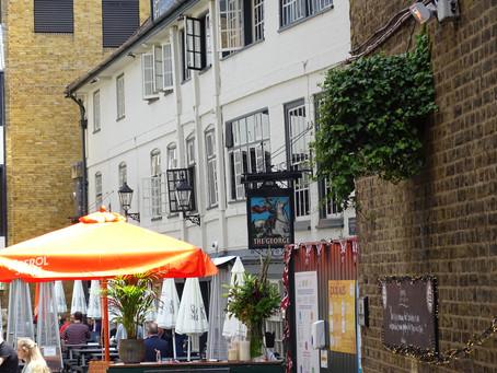 Southwark's only galleried inn!