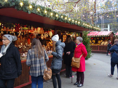 followed by the scrumptious smelling stalls in Leicester Square